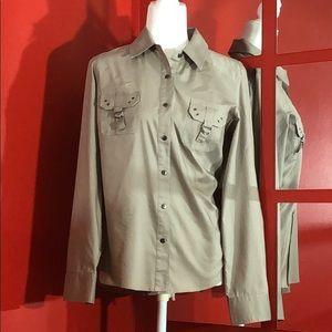 Signature by Larry Lavine Long Sleeve Dress Shirt